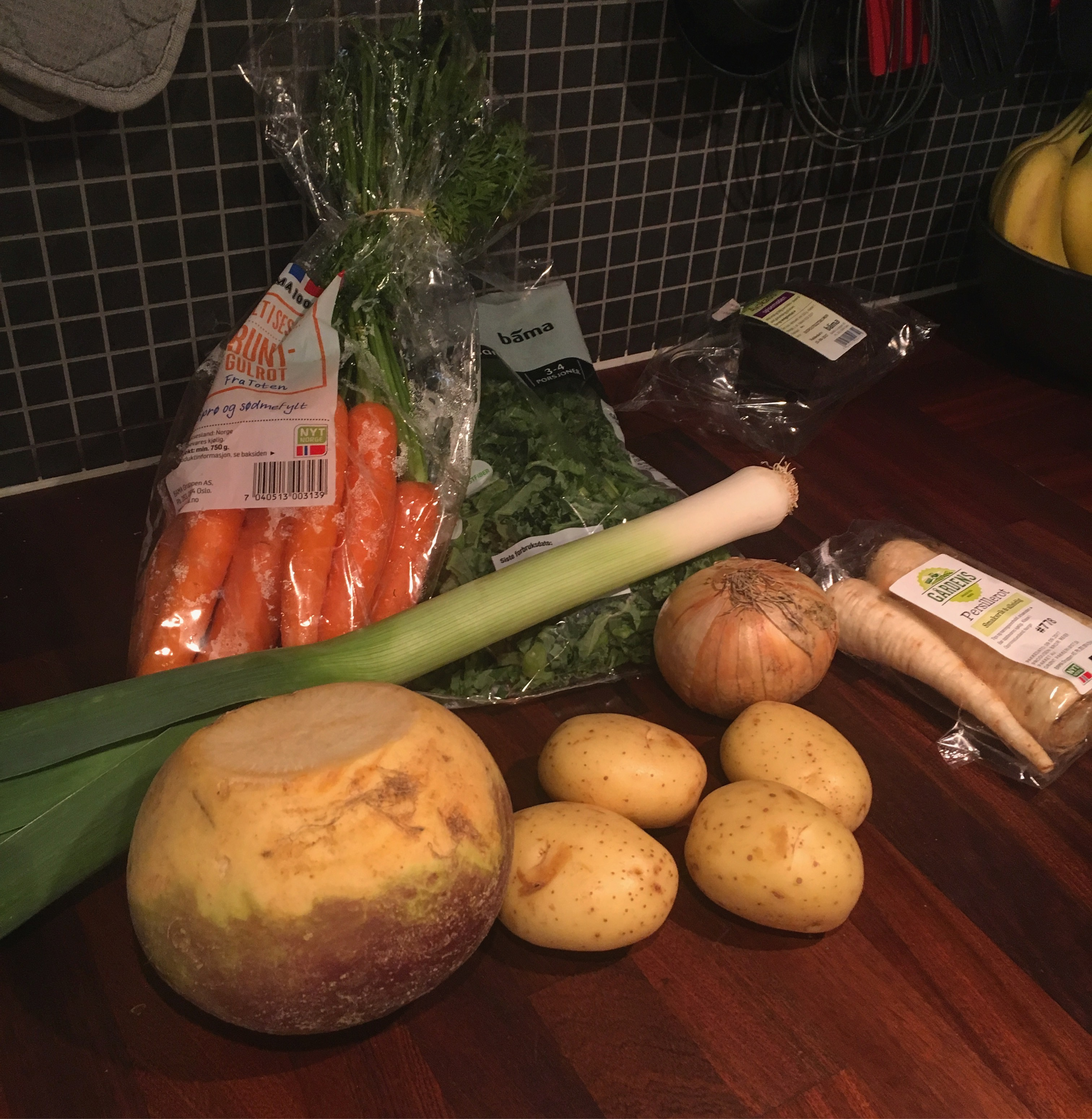 Høsten er høysesong for norske grønnsaker!