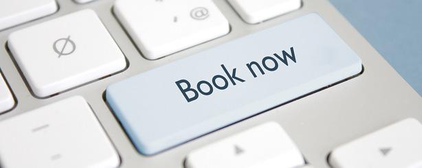 Nå kan du booke time online!