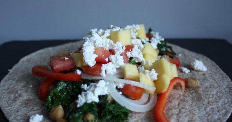 Vegetarwrap